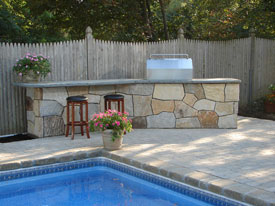 Outdoor Stone for Fireplaces, Siding and Countertops